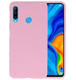 BackCover Hoesje Color Telefoonhoesje Huawei P30 Lite - Roze
