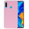 Color TPU Hoesje Huawei P30 Lite Roze