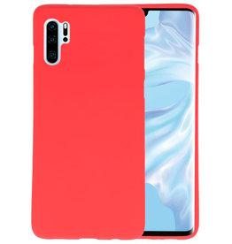 BackCover Hoesje Color Telefoonhoesje Huawei P30 Pro - Rood