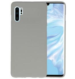 BackCover Hoesje Color Telefoonhoesje Huawei P30 Pro - Grijs