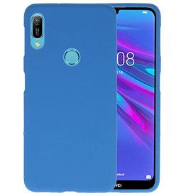 BackCover Hoesje Color Telefoonhoesje Huawei Y6 (Prime) 2019 - Navy