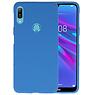 Color TPU Hoesje Huawei Y6 (Prime) 2019 Navy