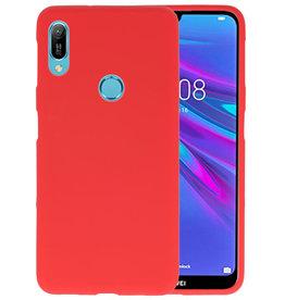 Color TPU Hoesje Huawei Y6 (Prime) 2019 Rood