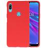 BackCover Hoesje Color Telefoonhoesje Huawei Y6 (Prime) 2019 - Rood