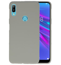 Color TPU Hoesje Huawei Y6 (Prime) 2019 Grijs