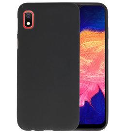 Color TPU Hoesje Samsung Galaxy A10 Zwart