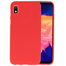 BackCover Hoesje Color Telefoonhoesje Samsung Galaxy A10 - Rood
