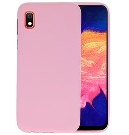 Color TPU Hoesje Samsung Galaxy A10 Roze