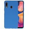 Color TPU Hoesje Samsung Galaxy A20 Navy