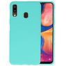 BackCover Hoesje Color Telefoonhoesje Samsung Galaxy A20 - Turquoise