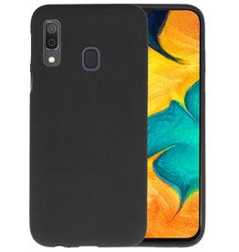 BackCover Hoesje Color Telefoonhoesje Samsung Galaxy A30 - Zwart