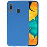 BackCover Hoesje Color Telefoonhoesje Samsung Galaxy A30 - Navy