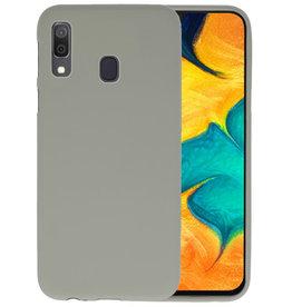 BackCover Hoesje Color Telefoonhoesje Samsung Galaxy A30 - Grijs