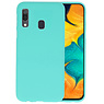 BackCover Hoesje Color Telefoonhoesje Samsung Galaxy A30 - Turquoise