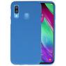 BackCover Hoesje Color Telefoonhoesje Samsung Galaxy A40 - Navy
