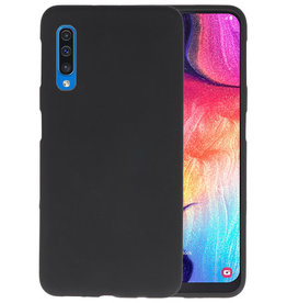 Color TPU Hoesje Samsung Galaxy A50 Zwart
