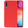 BackCover Hoesje Color Telefoonhoesje Samsung Galaxy A50 - Rood