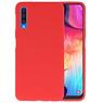 Color TPU Hoesje Samsung Galaxy A50 Rood