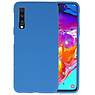 Color TPU Hoesje Samsung Galaxy A70 Navy
