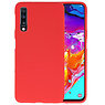 Color TPU Hoesje Samsung Galaxy A70 Rood