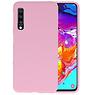 BackCover Hoesje Color Telefoonhoesje Samsung Galaxy A70 - Roze