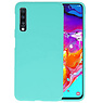 Color TPU Hoesje Samsung Galaxy A70 Turquoise