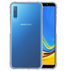 Schokbestendig transparant TPU hoesje Samsung Galaxy A7 2018
