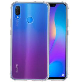 Schokbestendig TPU hoesje Huawei P Smart Plus Transpara