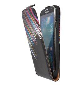 Sterren Flip Hoes voor de Samsung Galaxy S4 I9500