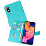 Bookstyle Wallet Cases Hoesje Samsung Galaxy A10 Groen