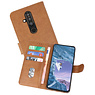 Bookstyle Wallet Cases Hoesje Nokia X71 Bruin