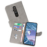 Bookstyle Wallet Cases Hoesje Nokia X71 Grijs