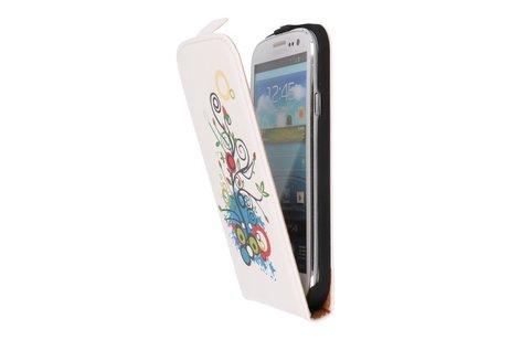 Fantasy Flip Hoes voor de Samsung Galaxy S3 I9300