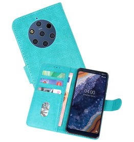 Bookstyle Wallet Cases Hoesje Nokia 9 PureView Groen