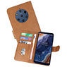 Bookstyle Wallet Cases Hoesje Nokia 9 PureView Bruin