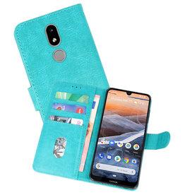 Bookstyle Wallet Cases Hoesje Nokia 3.2 Groen