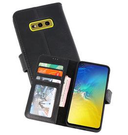 Rico Vitello Zwart Echt Leder Hoesje Samsung Galaxy S10e
