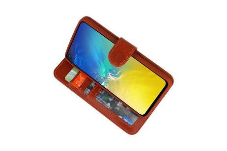 Rico Vitello Bruin Echt Leder Hoesje voor Samsung Galaxy S10e