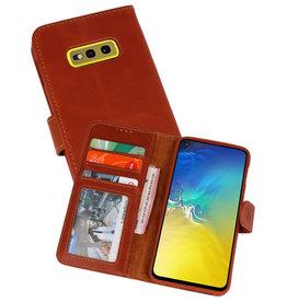 Rico Vitello Bruin Echt Leder Hoesje Samsung Galaxy S10e