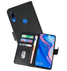 Huawei P Smart Z Hoesje Kaarthouder Book Case Telefoonhoesje Zwart