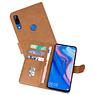 Bookstyle Wallet Cases Hoesje Huawei P Smart Z Bruin