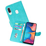 Bookstyle Wallet Cases Hoesje Samsung Galaxy A20e Groen
