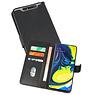 Samsung Galaxy A80 & Galaxy A90 Hoesje Kaarthouder Book Case Telefoonhoesje Zwart