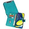 Samsung Galaxy A80 & Galaxy A90 Hoesje Kaarthouder Book Case Telefoonhoesje Groen