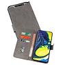 Samsung Galaxy A80 & Galaxy A90 Hoesje Kaarthouder Book Case Telefoonhoesje Grijs