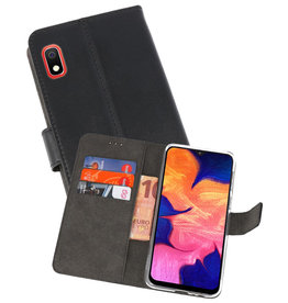 Wallet Cases Hoesje Samsung Galaxy A10 Zwart