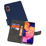 Wallet Cases Hoesje Samsung Galaxy A10 Navy