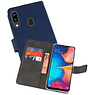 Wallet Cases Hoesje Samsung Galaxy A20 Navy