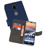 Wallet Cases Hoesje Nokia 3.2 Navy