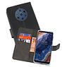 Wallet Cases Hoesje Nokia 9 PureView Zwart